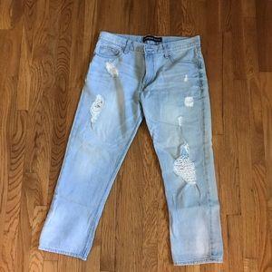 Express boyfriend jeans size 6